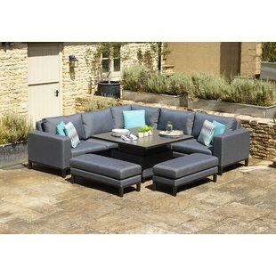 Mateo 8 Seater Corner Sofa Set By Wade Logan