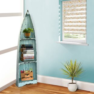 Boat Corner Bookcase by Casual Elements