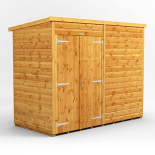 8 Ft. W X 4 Ft. D Shiplap Pent Wooden Shed By WFX Utility