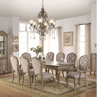 Donatella 9 Piece Extendable Dining Set One Allium Way