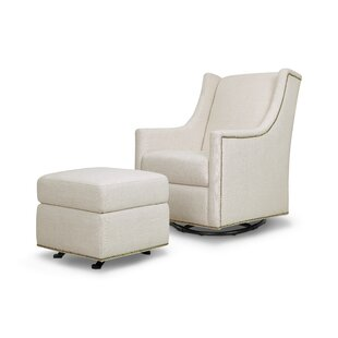 Harper Glider And Ottoman by Million Dollar Baby Classic