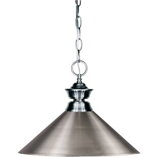 Red Barrel Studio Chapa 1-Light Cone Pend..