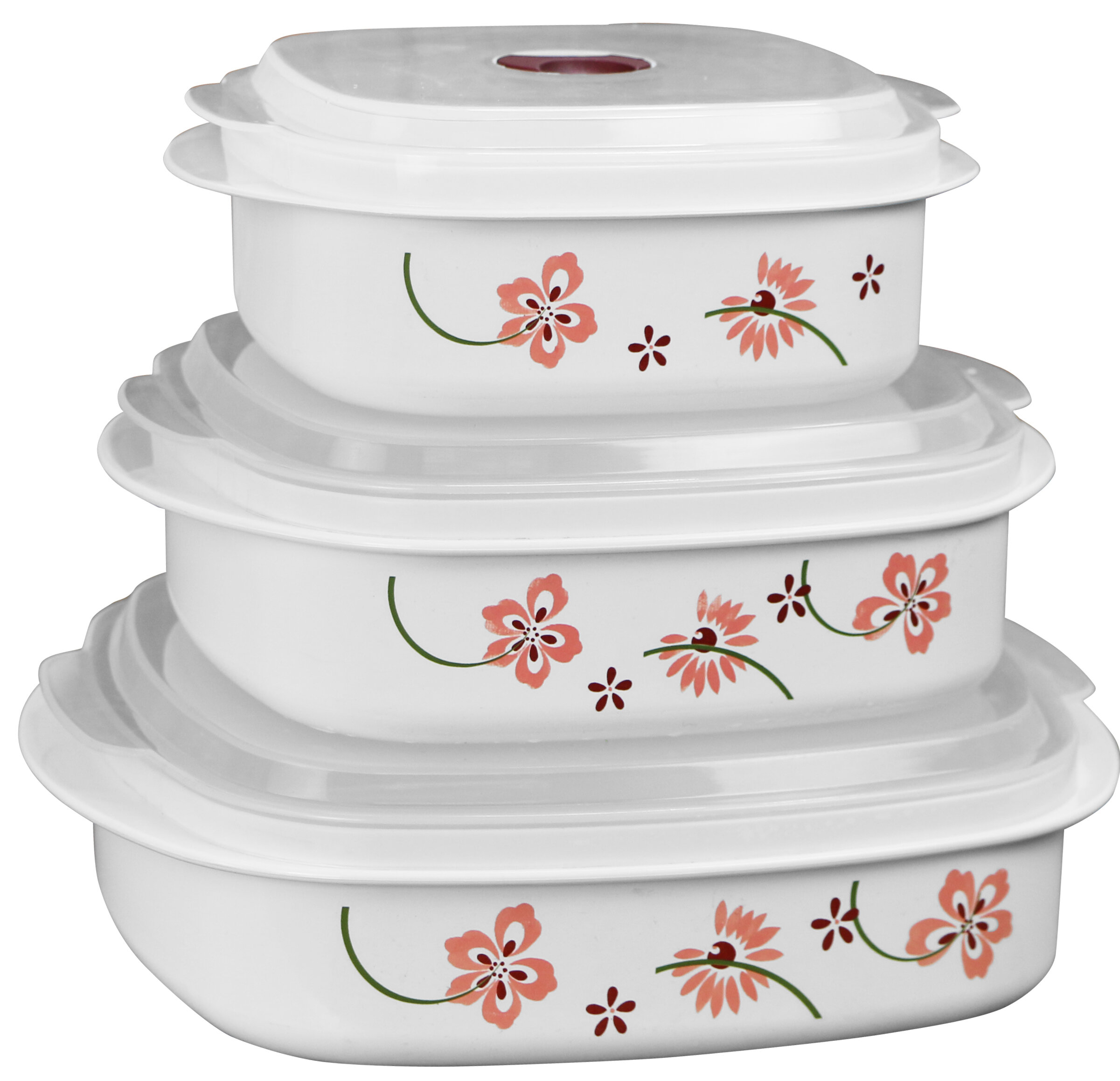 Corelle Microwave Cookware 3 Container Food Storage Set u0026 Reviews | Wayfair  sc 1 st  Wayfair & Corelle Microwave Cookware 3 Container Food Storage Set u0026 Reviews ...