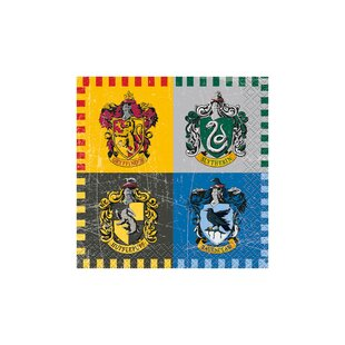Harry Potter Paper Disposable Beverage Napkin (Set of 16)