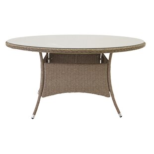Adhelin Rattan Dining Table By Bloomsbury Market