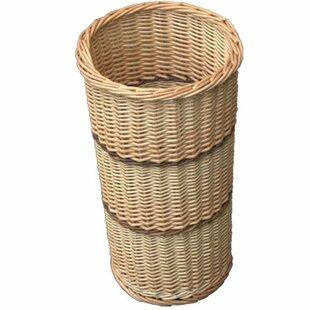 Umbrella Walking Stick Wicker Basket By Brambly Cottage