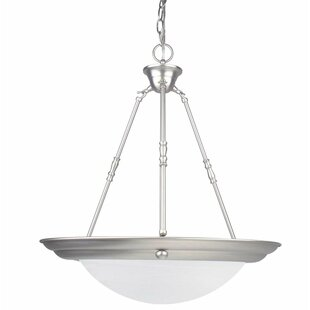 Radionic Hi Tech Everest 3-Light Bowl Pendant