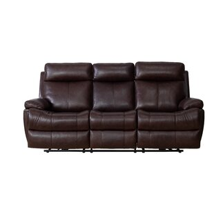 Jorge Leather Reclining Sofa