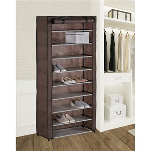 Where buy  27 Pair Shoe Rack By Rebrilliant