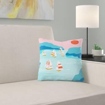 East Urban Home Wacka Designs Throw Pillow Cover Wayfair