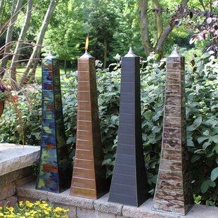 Outdoor Interiors Pyramid Garden Torch (Set of 2)