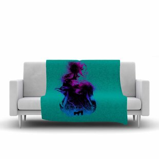 Inexpensive BarmalisiRTB Forest Queen People Fleece Blanket By East Urban Home