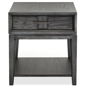 Check Prices Diehl End Table with Storage by 17 Stories