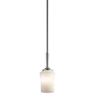 Red Barrel Studio Bergstrom 1-Light Bell Pendant