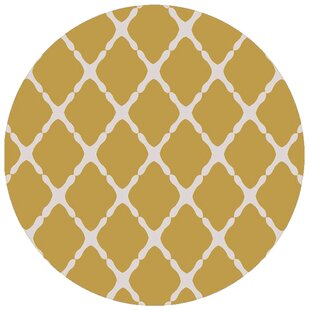 Dixfield Gold Indoor/Outdoor Area Rug By Ebern Designs