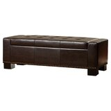 Davers Faux Leather Upholstered Storage Bench by Alcott Hill®