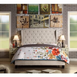 Shop for Siebert Upholstered Panel Bed by Winston Porter Reviews (2019) & Buyer's Guide