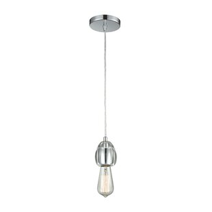 Orren Ellis Stowe 1-Light Bulb Pendant