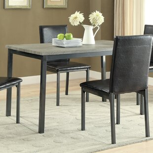 Hagerty 5 Piece Dining Set Wrought Studio