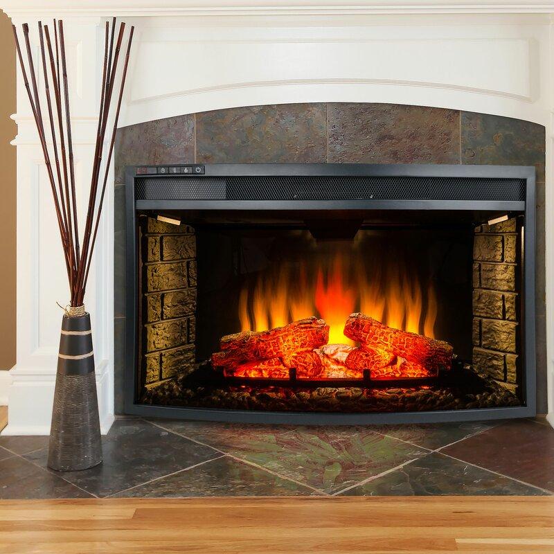 AKDY Electric Fireplace Insert & Reviews   Wayfair