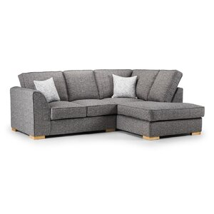 Sofa modern grau  Modern & Contemporary Corner Sofas | Wayfair.co.uk