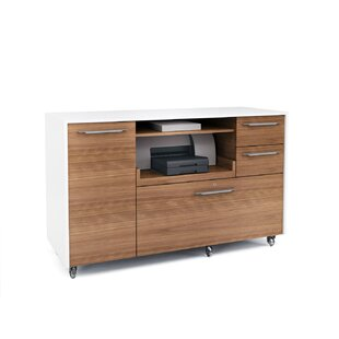 BDI Format 2-Drawer Mobile Filing Cabinet