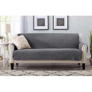 Great Bay Home Box Cushion Sofa Slipcover by Home Fashion Designs