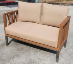 Pledger Loveseat With Cushions By Sol 72 Outdoor