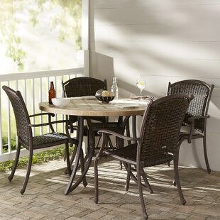 Darby Home Co Christmas 5 Piece Dining Set