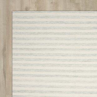 Crawford Hand-Woven Light Blue/Ivory Area Rug byBrayden Studio