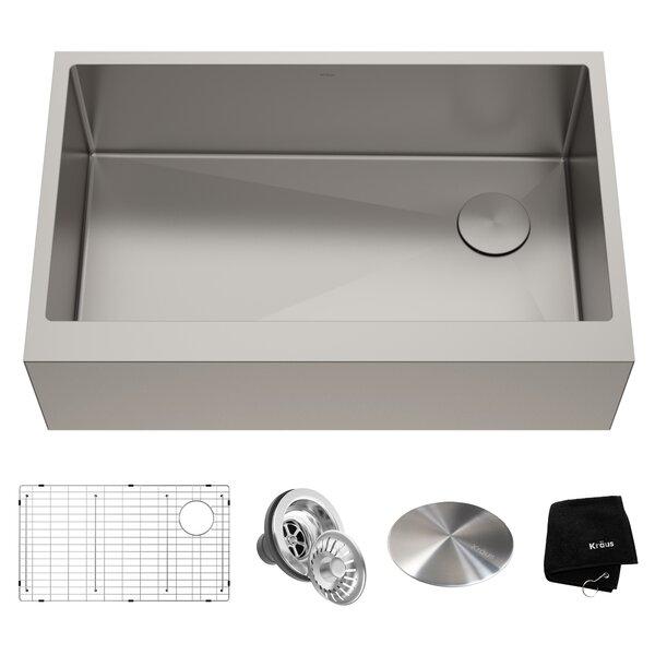 Modern Contemporary Off Center Drain Kitchen Sink Allmodern