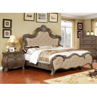 Kristopher Upholstered Panel Bed