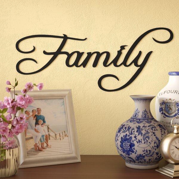 Metal Family Sign | Wayfair