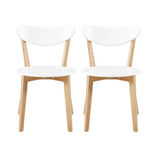 Bryant Retro Modern Upholstered Dining Chair (Set of 2)