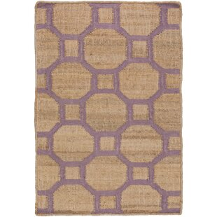Affordable Shaffer Camel/Mauve Area Rug By Alcott Hill