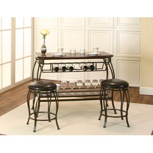 Stromsburg 3 Piece Pub Table Set