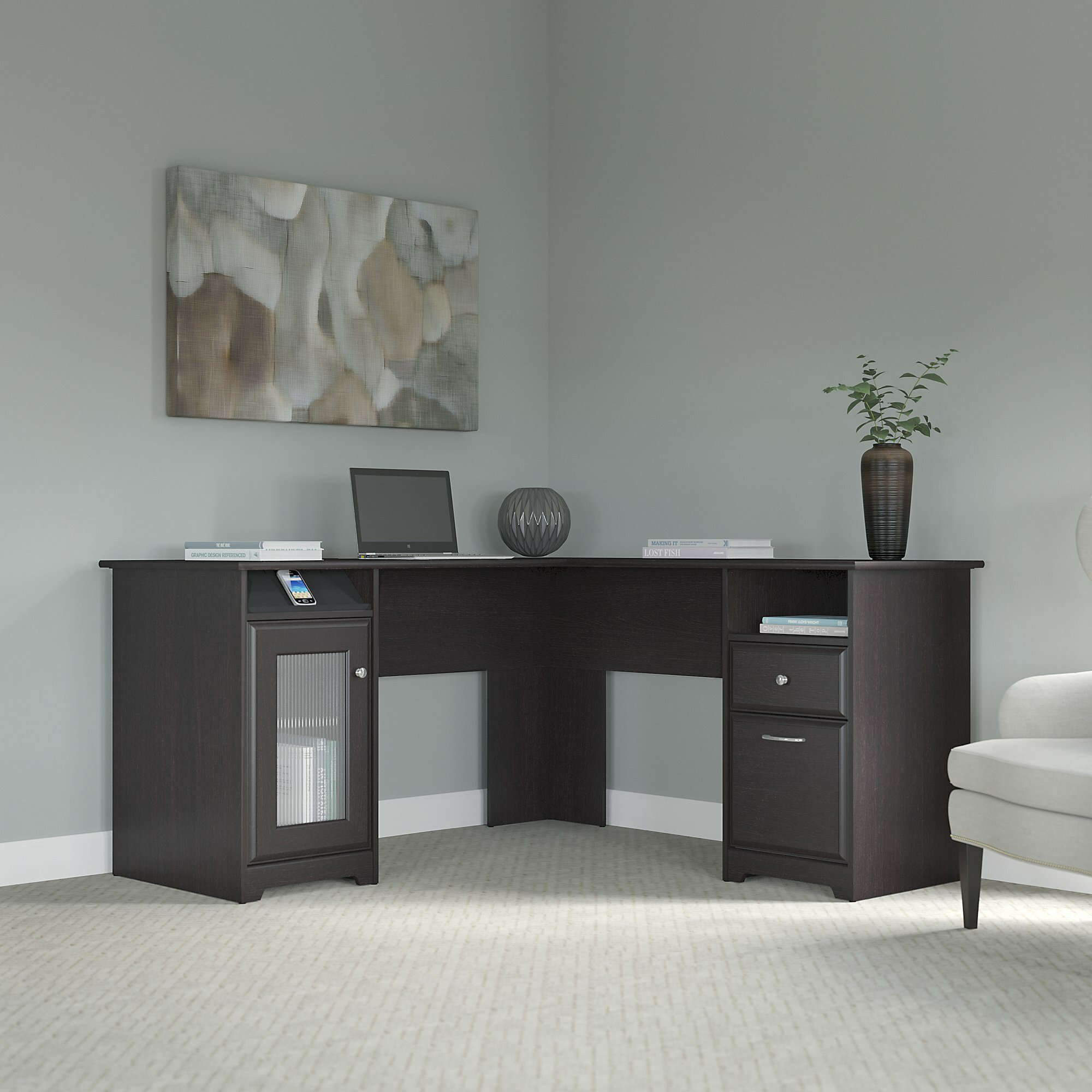 Red Barrel Studio Hillsdale L Shaped Executive Desk U0026 Reviews | Wayfair