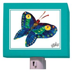 Oopsy Daisy Eric Carle's Butterfly In Flight Night Light