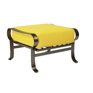 Woodard Cascade Ottoman with Cushion