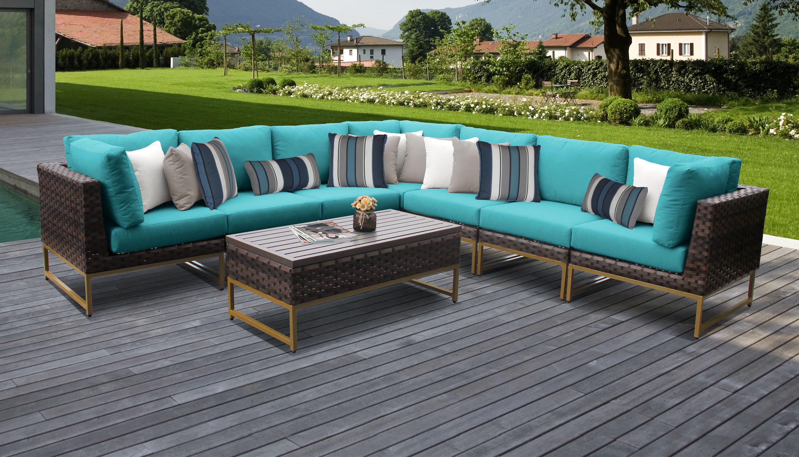 Modern Outdoor Sofas Allmodern