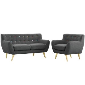 Amazing Meggie 2 Piece Living Room Set