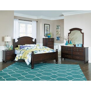 Charlton Home Lonoke Panel 5 Piece Bedroom Set