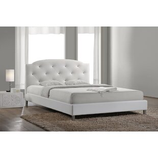 Ruben Double (4'6) Upholstered Platform Bed By Rosdorf Park