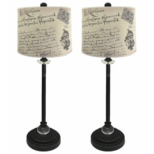 Reviews Doritza Crystal 28 Buffet Lamp (Set of 2) By Ophelia & Co.
