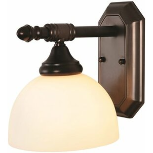 Reviews 1-Light Vanity Light By Monument