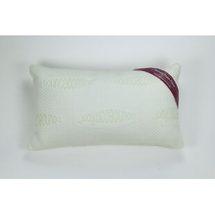 Bounce Comfort Serenity Antimicrobial Bed Memory Foam Standard Pillow