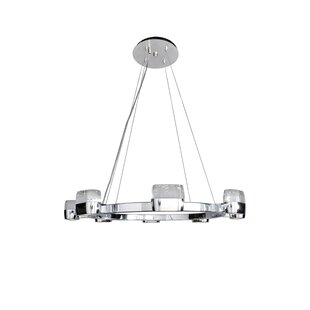 Orren Ellis Pollux 16-Light Glass Shade K..
