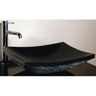 Comparison Stone Rectangular Vessel Bathroom Sink By Ryvyr