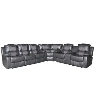 Red Barrel Studio Harbor Reclining Sectional