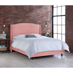 Davet Upholstered Panel Bed